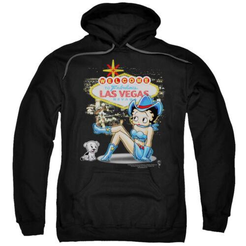 Betty Boop WELCOME TO FABULOUS LAS VEGAS COWGIRL Licensed Sweatshirt Hoodie