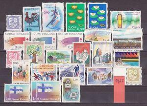 Briefmarken FINNLAND von 1977 komplett POSTFRISCH top Marken - Eggenburg, Österreich - Briefmarken FINNLAND von 1977 komplett POSTFRISCH top Marken - Eggenburg, Österreich
