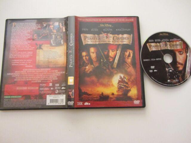 Pirates des Caraïbes La malédiction du Black Pearl (Gore Verbinski),DVD,Aventure