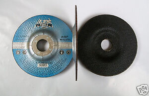 "4-1//2/"" X 1//16/"" X 7//8/"" Type 42 Metal Cut Off Wheels Depressed Center 50pc Pro"