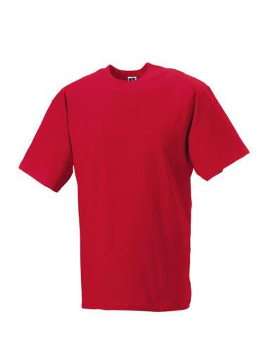 Russell Classic Heavyweight Ring spun T-shirt Plain Top Quality Men/'s Shirt New