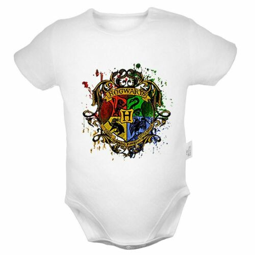 Harry Potter Hogwart Jumpsuit Baby Romper Bodysuit Infant Newborn Clothes Outfit