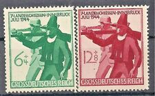Nazi Germany 3rd Reich Mi# 897-898 MNH 7th Innsbrusk Shooting Competition 1944*