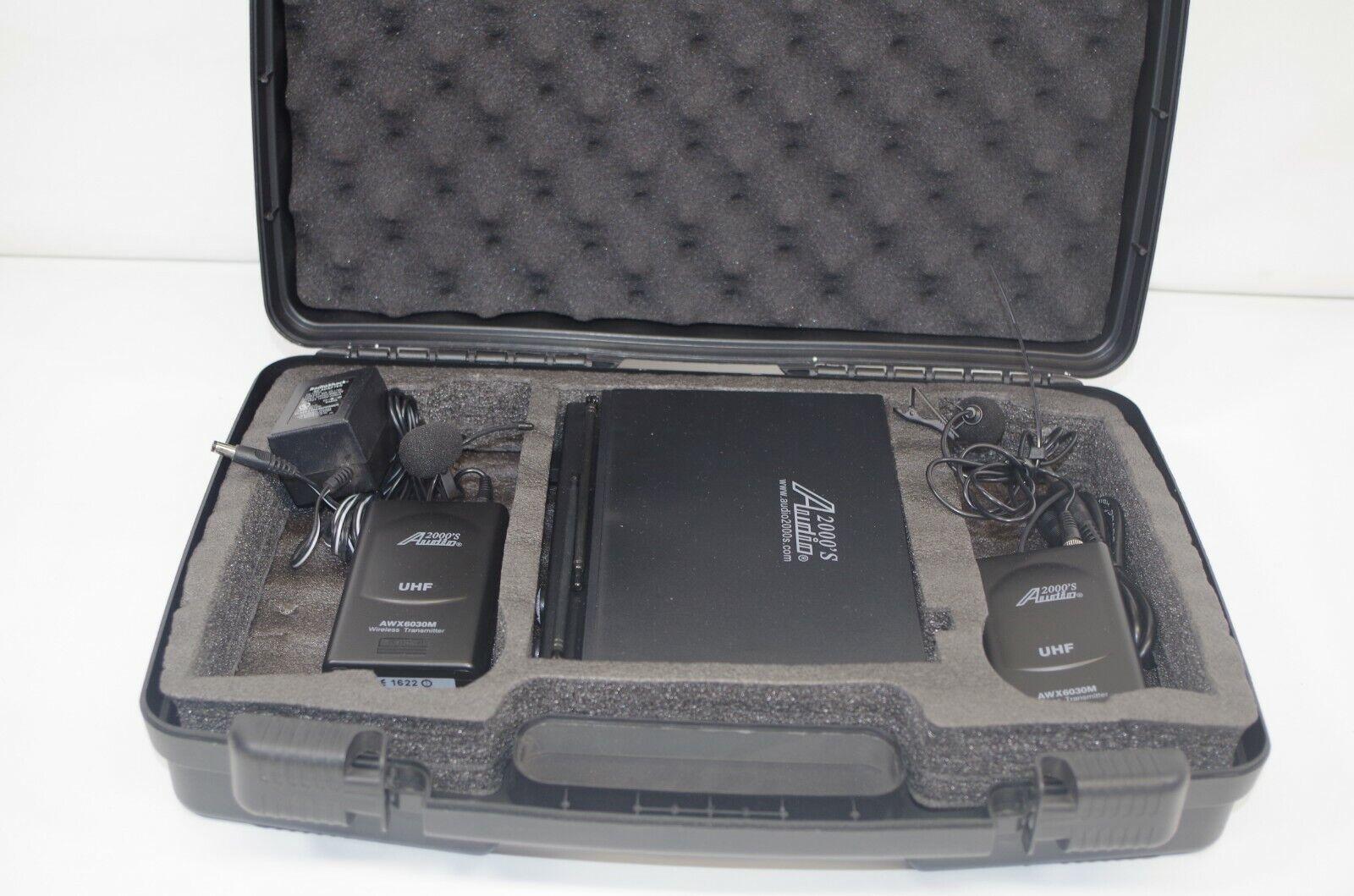 Audio 2000's AWR6032U AWX6030 Wireless Microphone Transmitter & Receiver