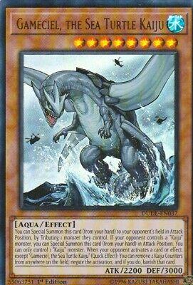 YUGIOH HOLO CARD GAMECIEL THE SEA TURTLE KAIJU DUDE-EN037 1ST EDITION