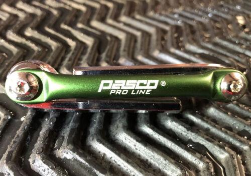 Pasco Pro Line tête cylindrique-angle plume clé-Pliable Support 6tlg 2-6 mm