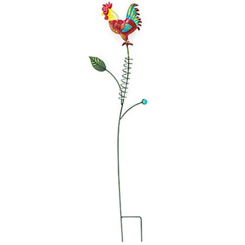 Regenmesser Metall Glas Gartenstecker Gartendeko mit Hahn