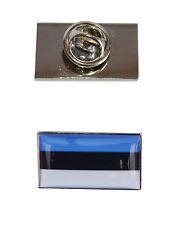 Estonia Flag Tie Pin with free organza pouch
