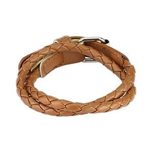 Multi-Weaved-Double-Wrap-Adjustable-Bracelet-w-Buckle-End-Design-Choose-Color