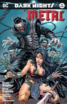 DARK NIGHTS METAL #6 MATTINA VARIANT NM JOKER GOTHAM BATMAN WHO LAUGHS DC COMICS