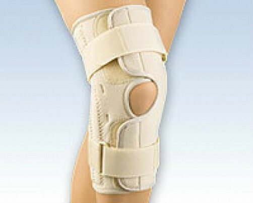 Soft Form Stabilizing Knee Support Brace Wrap Around Spiral Stays Patella FLA