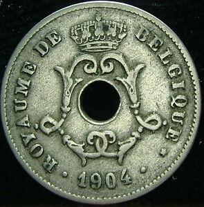1904 Belgique Belgique Belgie 10 Cents Centimes Cqijd136-08005712-928987878