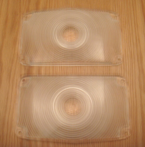 1956 CHEVY PARKING LAMP LENS  new pair ** USA MADE **