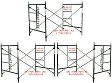 Cbm Scaffold 3 Set Masonry Frame Sets 5 X 5x 7 Snap On Cross Brace
