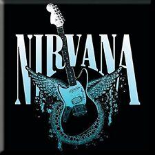 Nirvana - Jagstang Wings Metal Magnet ROCK OFF