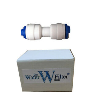 FRIDGE-FREEZER-WATER-FILTER-PIPING-3-8-034-WATER-FITTING-STRAIGHT-CONNECTOR