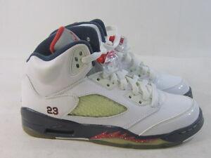 best authentic 1a770 b14b4 Image is loading NEW-Nike-Air-Jordan-5-Retro-Gs-034-