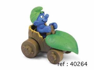 Schtroumpf en voiture Figurine plastique Schtroumpfs Les
