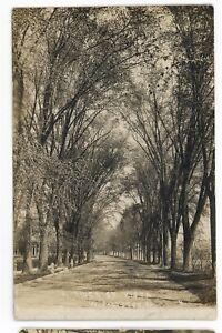 RPPC-River-Street-View-PITTSTON-Luzerne-County-Pennsylvania-Real-Photo-Postcard