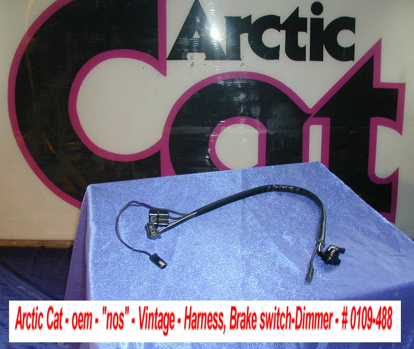 Arctic Cat Snowmobile Brake Light Switch Harness El Tigre