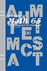 Saxon math 65 math 65 an incremental development by john saxon stock photo fandeluxe Images
