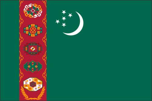 Sticker ** 5 Sizes ** Turkmenistan Flag Vinyl Decal