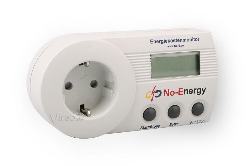 Energiekosten Messgerät No Energy SEM16+ Standby-Energie-Monitor NZR Speicher