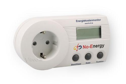 Coût énergétique appareil de mesure no Energy sem16+ secours-énergie-Moniteur NZR mémoire