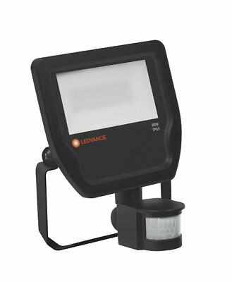 DEL scheinferfer ledvance Flood Capteur 20 W 3000k 2200 LM ip65 Noir Floodlight