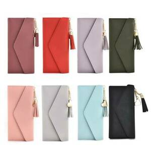 Women-Lady-Clutch-Leather-Wallet-Long-Card-Holder-Phone-Case-Purse-Handbag-Hot