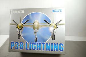 Armour P38 J Foudre 98137 Avion 98150 1:48 En Emballage D'origine (f15)