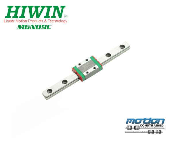 New Hiwin MGN9C Linear Guides MGN Series Linear Bearings   30mm to 1190mm Long