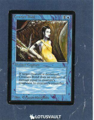 Creature Bond Beta PLD Blue Common MAGIC THE GATHERING MTG CARD ABUGames