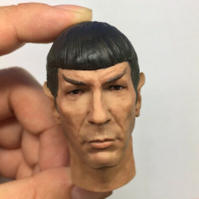 1//6 Scale Spock Head Sculpt Star Trek for 12/'/' Action Figure Body Hot Toys