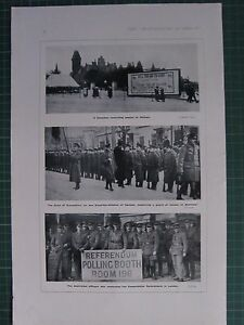1917 WWI WW1 PRINT ~ CANADIAN RECRUITING POSTER ~ MONTREAL GOVERNOR-GENERAL
