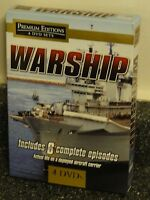 War Ship (dvd) 4-disc Set Includes 6 Complete Episodes Topics Ent Brand