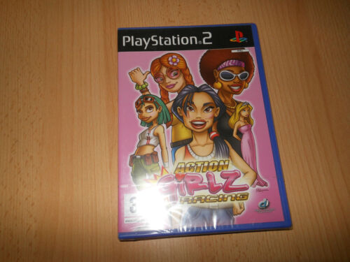 Action Girlz Racing PS2 brand new sealed