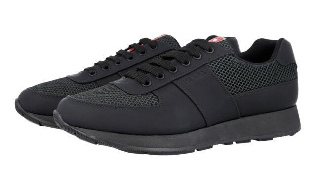 PRADA Trainers Shoes 4e3341 Black
