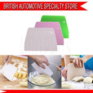 1X Dough Scraper Trapezoid Cookies Cutter  Spatula Baking Cream Cake Bread Tool