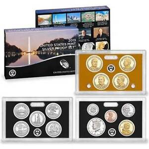 2013-S-US-Mint-Silver-Proof-14-Coin-Set