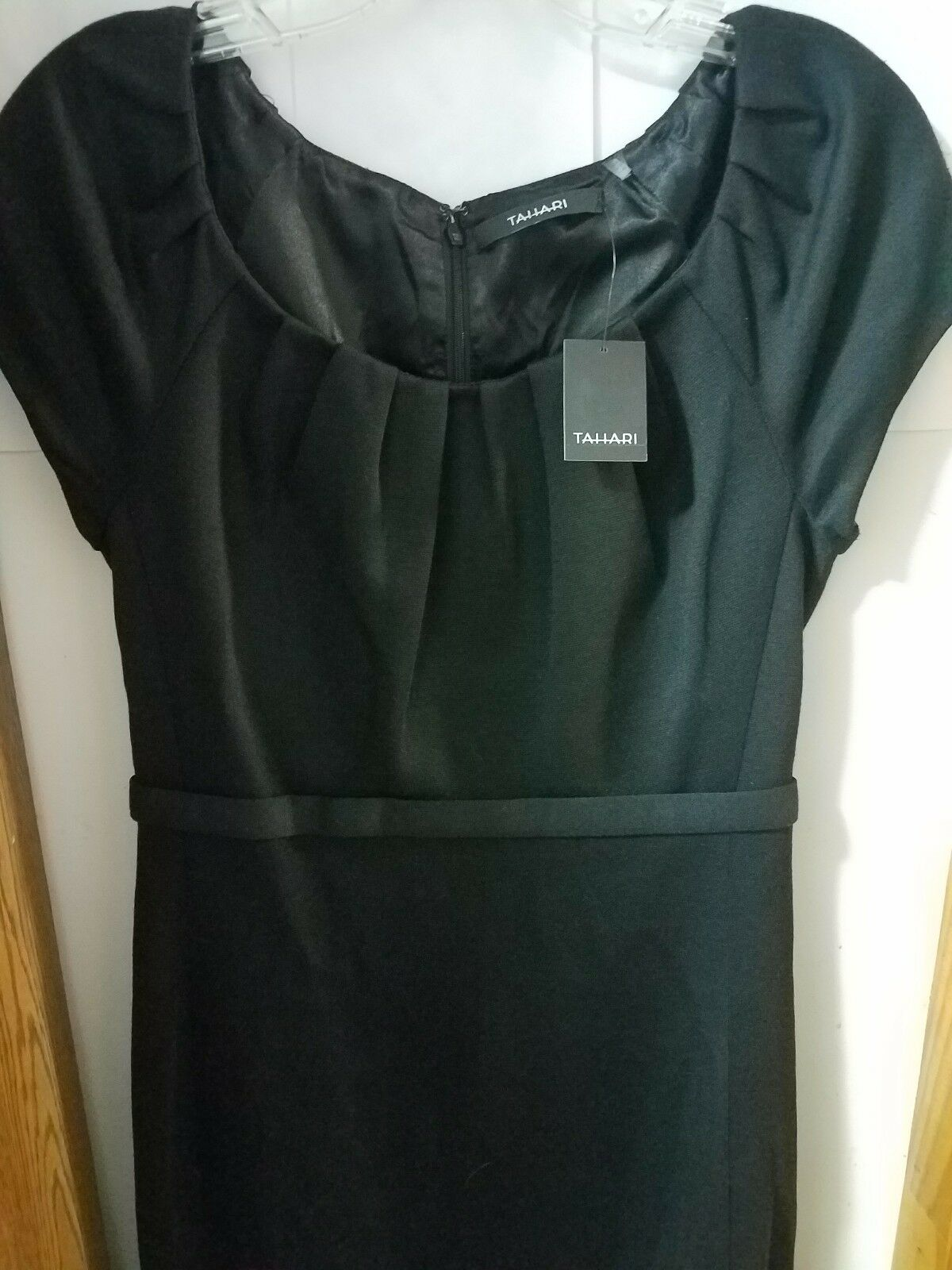 NWT Elie Tahari schwarz Ember Sheath Dress Sz 4 - New with Tags