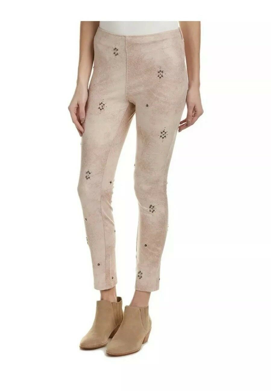 FREE PEOPLE VEGAN SUEDE HIGH WAIST LEGGING NWT Sz 30  128