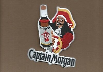 """New Captain Morgan Rum 4 1//2 X 4/""""   Inch  Iron on patch Free Shipping"""