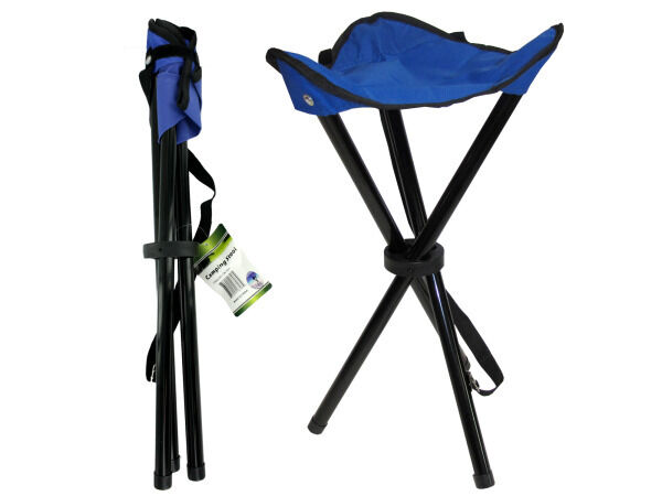 5 COLLAPSIBLE CAMPING  HUNTING STOOLS