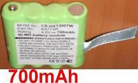Batterie 700mah Pour Motorola Tlkr-t5 Tlkr-t6 Xtr446 Ixnn4002a Ixnn4002b