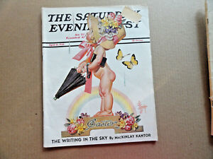 Saturday-Evening-Post-Magazine-April-16-1938-Complete-Easter