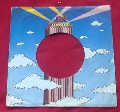 Replica Of Original Used Early Jet Label Company Record Sleeve Music