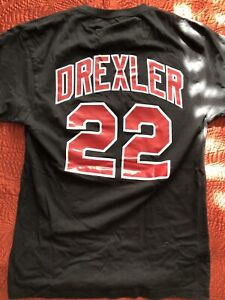 86ea6679 Image is loading Clyde-Drexler-Portland-Trail-Blazers-Mitchell-amp-Ness-