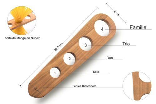 Cuillère spaghetti spaghettimaß bois professionnel couverts portions mesure de cuisine professionnel