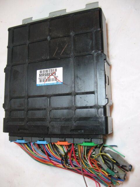 03 2003 Mitsubishi Lancer Ecm Pcm Engine Computer Mr988329